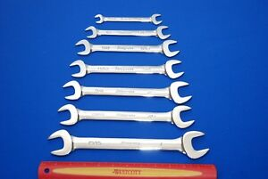 New Snap on 7 Piece Sae Standard Open End Wrench Set Vo1214b vo3032b Ships Free