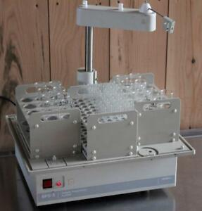 Varian Model Sps 5 Autosampler With Type 25 Sample Rack Type A Standard Racks