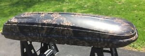 Rare Thule Mountaineer Camoflage Mossy Oak Pattern Roof Top Cargo Box
