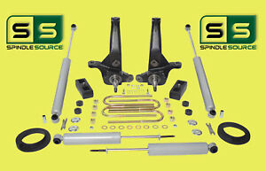 01 10 Ford Ranger 2wd 5 2 Lift Kit Spindles coil Spacer Lift Blocks 4 Shocks