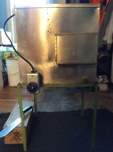 Heated Honey Extracting Uncapping Tank With Stand Bee Equipment