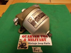 Fuel Filter Ford Gpw Style Museum Quality Reproduction Fit Jeep Willys Mb Gpw