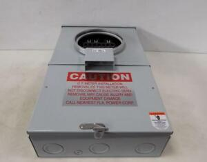 Meter Devices 3 Phase 4 Wire Electrical Meter Box 602u3040c13 202