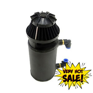 Us Stock New Oil Catch Can Reservoir Tank With Breather Filter Baffled Vaexheart