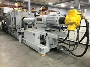 Van Dorn demag 700hp 125 770 Ton 125oz Injection Molding Machine 10104