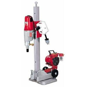 Milwaukee 4115 22 Diamond Coring Rig W Small Base Stand Vac u rig Kit in Stock