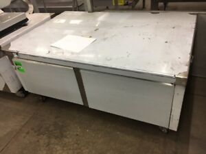 New Stainless Steel Equipment Stand 36 d X 53 w On Casters