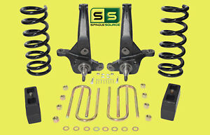 01 10 Ford Ranger 2wd 6 4 Lift Kit 4 Cyl Spindles Coil Springs Lift Blocks