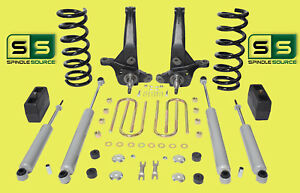 01 10 Ford Ranger 2wd 6 4 Lift Kit 4 Cyl Spindles coils lift Blocks 4 Shocks