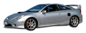 Duraflex Td3000 Side Skirts Rocker Panels 2 Piece For 2000 2005 Toyota Celica
