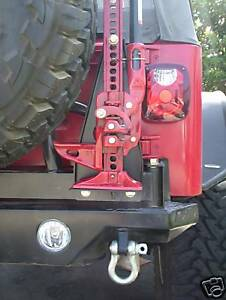 Ultimate Jeep Hi Lift Jack Mount
