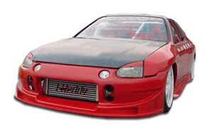 Duraflex Buddy Front Bumper Cover 1 Piece For 1993 1997 Honda Del Sol