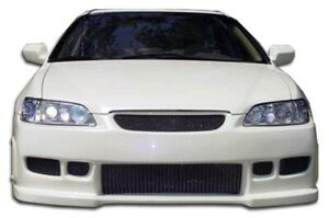 Duraflex Spyder Front Bumper Cover 1 Piece For 1998 2002 Honda Accord 4dr