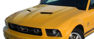 Duraflex Mach 2 Hood 1 Piece For 2005 2009 Ford Mustang