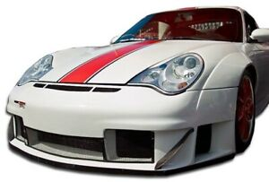 Duraflex Gt3 Rsr Look Wide Body Front Lip Splitter For 02 04 Porsche 911 996