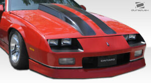 Duraflex Iroc z Look Front Bumper Cover 1 Piece For 1982 1992 Chevrolet Camaro