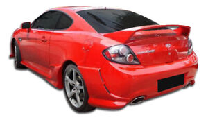 Duraflex Adonis Rear Bumper Cover 1 Piece For 2007 2008 Hyundai Tiburon
