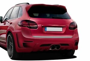 Af 3 Widebody Rear Bumper Cover Gfk 1 Piece For 2011 2014 Cayenne