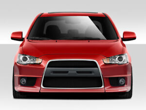 Duraflex Evo X V2 Front Bumper Cover 1 Piece For 2008 2017 Lancer