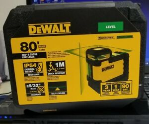 Dewalt Usa Version Dw03601cg Self leveling Cross Line Green Beam 360 Degree New