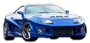 Duraflex Conclusion Wide Body Kit 11 Piece For 1993 1998 Toyota Supra
