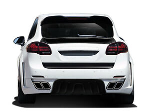 Af 4 Wide Body Rear Bumper Cover Gfk Overstock For 2011 2014 Cayenne