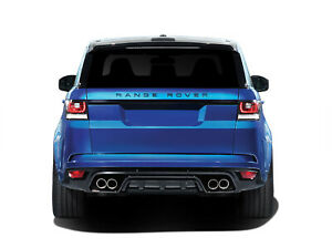 Vaero Svr Look Rear Bumper 1 Piece For 2014 2015 Land Rover Range Rover Sport