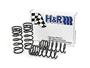 H r Race Lowering Springs For 2011 2014 Ford Mustang V6 V8 Coupe Convertible
