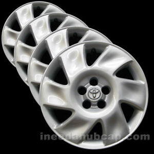 Toyota Matrix Genuine Factory 16 Hubcaps Professionally Reconditioned set Of