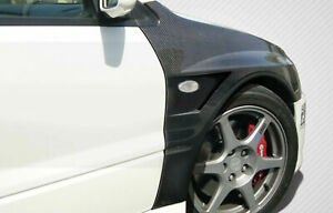 Carbon Creations Vented Fenders 2pc For 03 06 Lancer Evolution 8 9
