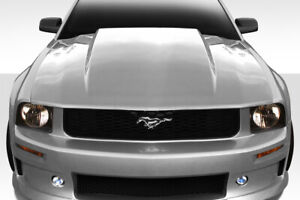 Duraflex 2 5 Inch Cowl Hood 1 Piece For 2005 2009 Ford Mustang