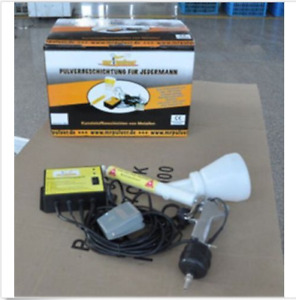 Portable Powder Coating System Paint Gun Coat 02 Brand New