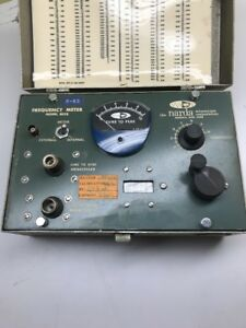 Narda Frequency Meter Model 802b Not Tested ff