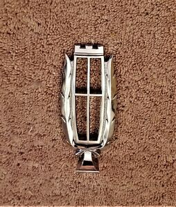 1979 87 Mercury Grand Marquis Colony Park Hood Ornament Topper Oem