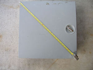 Hoffman Type 1 Steel Enclosure 20 X 20 X 6 62 box With Inside Panel
