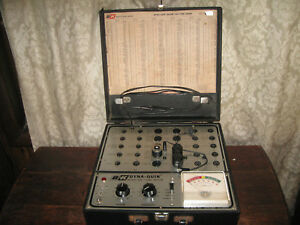 B k Dyna Quick Model 500 Vacuum Tube Tester