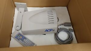 Topcon Acp 8 Auto Chart Projector With Wall Mount Remote Mint Condition