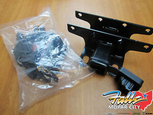 2018 Jeep Wrangler Jl Trailer Tow Hitch Reciever And 7 Way Wiring Kit Mopar Oem