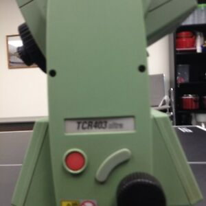 Leica Total Station Tcr403 Ultra three For Sale Ultra Or Power Models