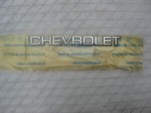 Nos Chevy Monte Carlo Ls Luxury Sport 1986 1987 Gm Trunk Lid Chevrolet Emblem