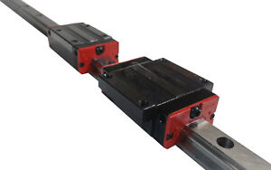 Hgr20 20mm Linear Rail Guide Actuator Slide Cnc 750 1000 1500 Mm 1m 1 5m Usa