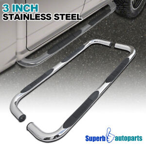 1994 2001 Dodge Ram 1500 2500 Quad Cab Side Step Bars S S Running Board Chrome