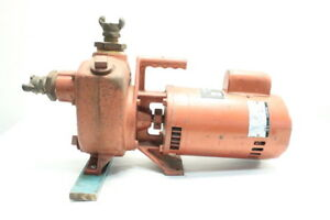 Medalist 5315 Aquamaster Water Pump 2in X 2in 2hp 115 230v ac