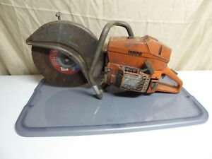 Husqvarna Model 272k Concrete Saw 12 50 Psi Compression Has Spark Parts repair