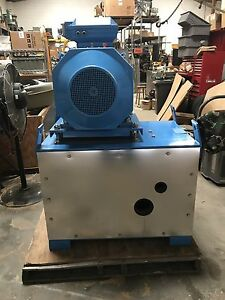 Cat Triplex Pump 6811 With Electric Motor Already Mounted
