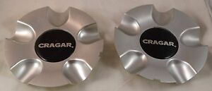 Cragar Wheels Silver Custom Wheel Center Cap Caps Set 2 1 Aps 0001
