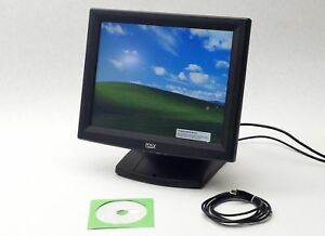 Posx Pos 15 Point Of Sale Touch Screen Display Monitor Evo tm2 Workstation