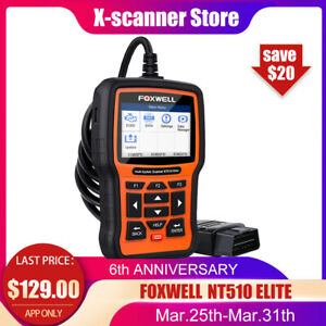Foxwell Nt520 Pro For Bmw Mini Diagnostic Scanner Tool Abs Srs Code Reader