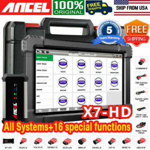 Foxwell Nt510 Elite For Bmw Mini Diagnostic Scanner Tool Abs Srs Tpms Reset Dpf