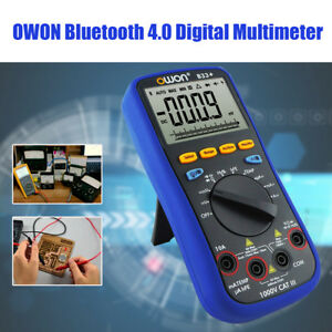 Bt33 Bluetooth 4 0 Multimeter T rms Digital Auto Tester Data Hold Off Recording